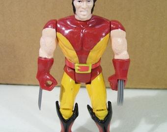 Vintage Marvel X-Men Wolverine Action Figure, 1991 Toy Biz