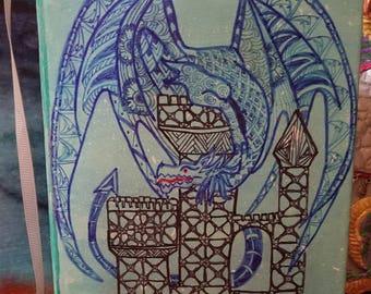 Art Journal, King of the Castle, CindysZensations