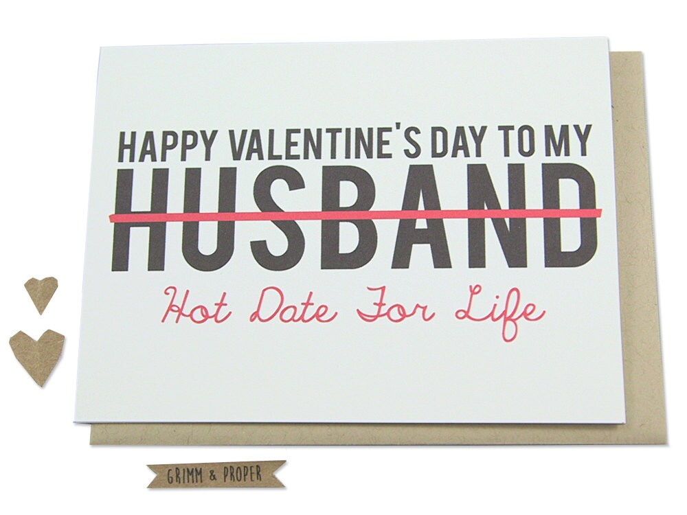 funny valentine's day card husband spouse partner hot, Ideas