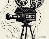 Cinema film cinematograph...