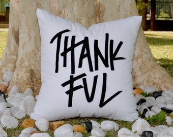 50% OFF Thanksgiving ThankFul Pillow,Thanksgiving Fall Decor, Valentine decor Cushion