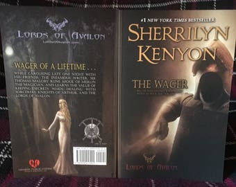 The Wager Lords of Avalon® Autographed Story