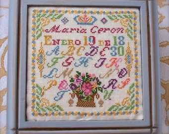 Maria Ceron 1830 Her Sewing Box Part 2