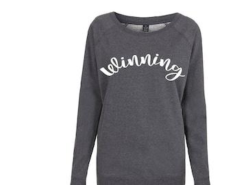 Womens Winning pullover organic jumper