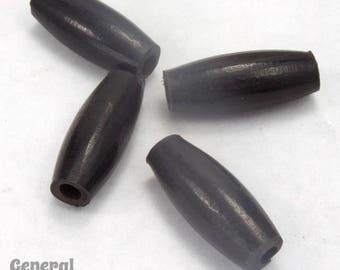 1 Inch Black Horn Hair Pipe #BNH019