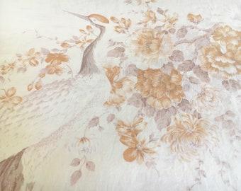 Sheridan Double bed Vintage retro flat sheet floral shanny chic boho bird