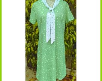 Green Dot Dress