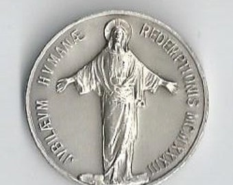1933 Holy Year of The Human Redemption Silver Medal
