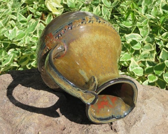 Pottery Pitcher, Wheel Thrown Pitcher, Ceramic Pitcher, Hand Made Pitcher, Stoneware Pitcher, Wheel Thrown Pottery
