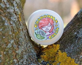 Vegan Chamomile Face Cream