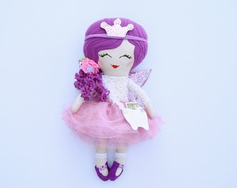 Tooth Fairy doll, tooth fairy, doll for girls, textile doll,cotton doll,cotton doll