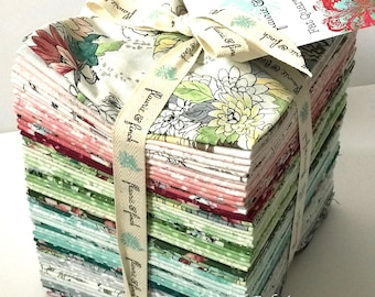 "RJR Fabrics - Serene Spring Fat Quarter Bundle by Flaurie and Finch - 30 FQ's - 18"" x 21"" each FQ"