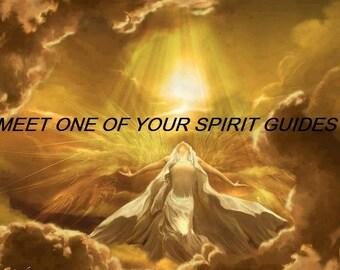 Psychic Reading, Meet Your Spirit Guide, 24 Hr, Psychic Medium, Clairvoyant, Via PDF