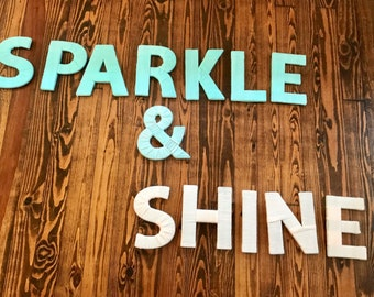 Sparkle and Shine wall decor