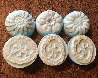 Shea Butter Exfoliating Loofah Soap