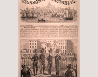 Cincinnati – Ohio – Rover Guards  - 1853
