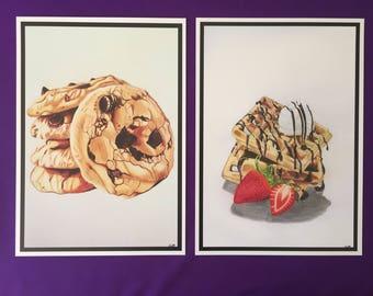 Dessert Drawing Prints