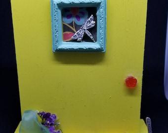 Whimsical Fairy Door - Dragonfly