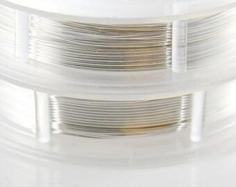 Artistic Wire 24 Gauge Lead/Nickel Safe-Non Tarnish Silver 15Yards