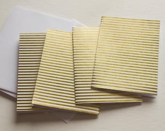 note cards, stationary cards, stationery set, blank note cards, note card set, modern stationary, gold foil stationery, set of note cards