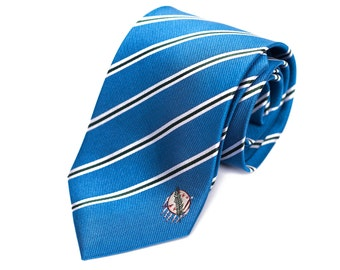 Oklahoma Tie - Inspired by the Oklahoman Flag with Personalized Tag. Husband Gift, Missionary Gift. Fathers Day
