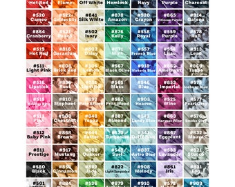 """Invisible Zippers - 84 Colors to Choose From!! - 8"""" 10"""" 14"""" 18"""" 22"""" 25"""" (1pc)"""