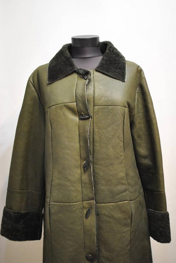 LAMBSKIN winter COAT Vintage 629 WOMEN'S parka atwtqdE