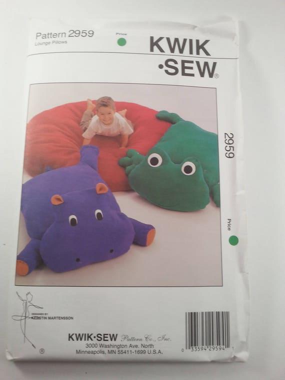 Boden Kissen Tier Kinder Kwik Sew Muster Handwerk Lounge Home