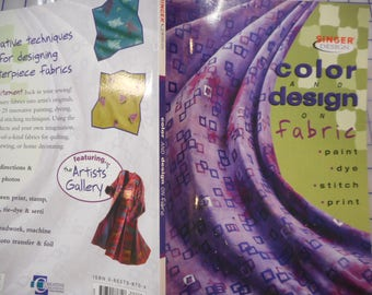 Color and Design on fabric  -   clearance