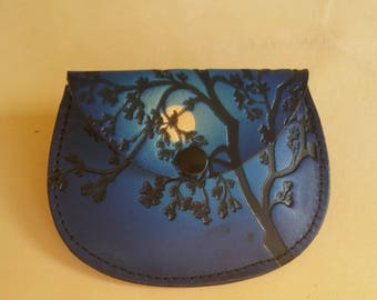 Leather Coin Purse.
