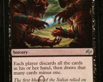 Dark Deal, Limited Edition Magic The Gathering Artist Proof Card, By Scott Murphy