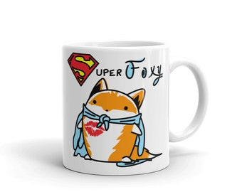 The Fox and Glove Superfoxy Mug