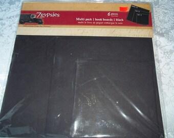 7 gypsies  Multi Pack Book Boards Black
