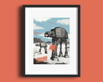 Star Wars - The Empire Strikes Back Print