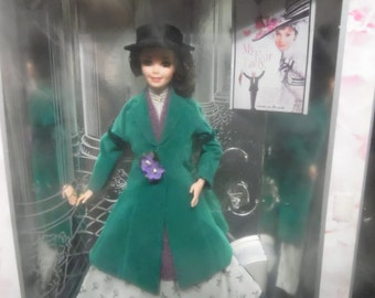 Mattel Barbie as Eliza Doolittle in My Fair Lady Hollywood Legends