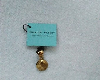 Charles Albert Sea Shell Pendant/Marked/No Chain