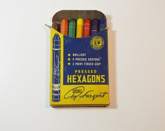Pressed Hexagons Crayons, No. 5208