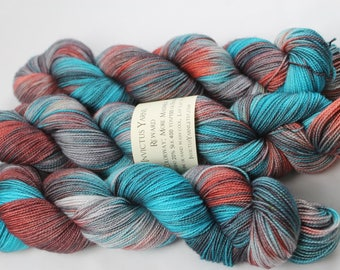 More Madness fingering weight sock yarn