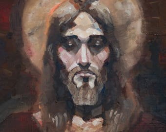 Christ Painting Print: I Am That I Am