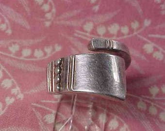 Vintage Reed & Barton Sterling Spoon ring 10 grams size 6.75