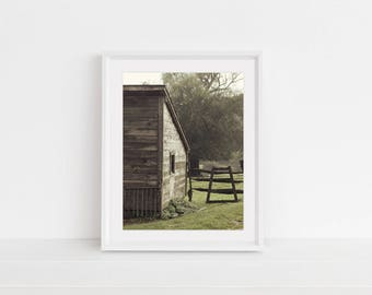 Digital Download, Digital Print, Original Photography, Wall Art, Home Decor, Printable, Nature Print, Barn, Rustic, Fall in NY, Nature Photo