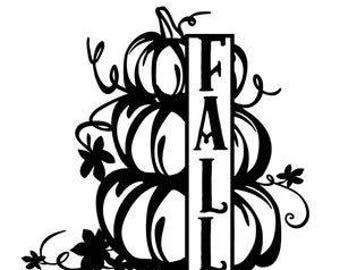 Fall-Pumpkins-SVG cut file