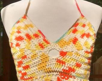 Orange You Glad? Crochet Top