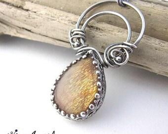 delicate sunstone jewellery, sunstone wedding jewelry, engagement jewelry, delicate engagement gift, wedding jewelry, wedding necklace