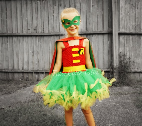 Superhero Robin Tutu Dress