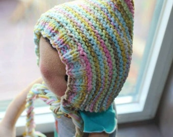 Knit gnome hat