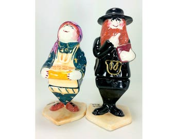 Authentic Branah Layah Bonnie Lee Hanukkah Sculpture Dreidels Judaica Jewish Art Ceramic collectibles