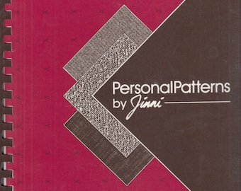 Personal Patterns by Jinni A Manual for Perfect Patternmaking by Virginia (Jinni) Nastiuk Vintage 1987 Signed Book with Corrections