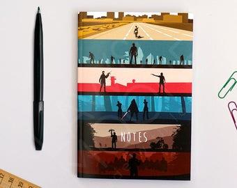 The Walking Dead A6 Pocket Notebook (10.5 x 14.8 cm), Stationary, Pocket Notebook, Stationary