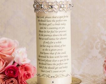 Memorial Candle Personalized Memory Candle Wedding Memorial